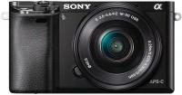 Беззеркальный фотоаппарат Sony Alpha a6000 Kit 16-50mm / ILCE-6000LB (черный) -