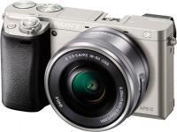 Беззеркальный фотоаппарат Sony Alpha a6000 Kit 16-50mm / ILCE-6000LS (серебристый) -