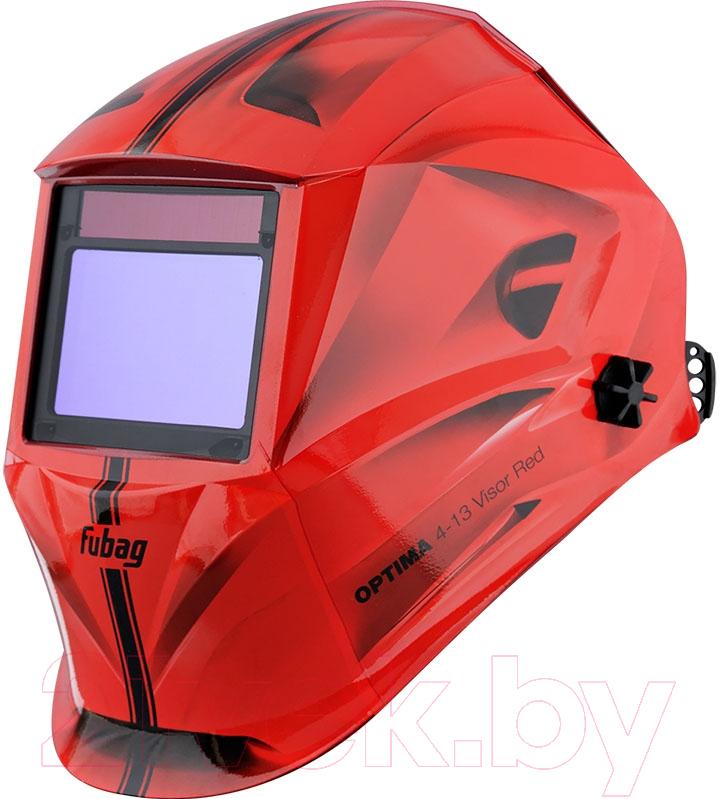 Купить Сварочная маска Fubag, Optima 4-13 Visor (красный), Китай