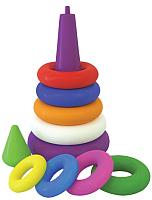 Развивающая игрушка ТехноК Пирамидка выдувная / 2360 -