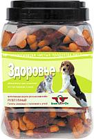 Лакомство для собак Green QZin Здоровье Галеты с телятиной и уткой (750г) -