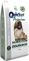 Корм для собак Quicker Premium Adult mini / midi (1кг) -