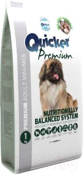 Корм для собак Quicker Premium Adult mini / midi (1кг)