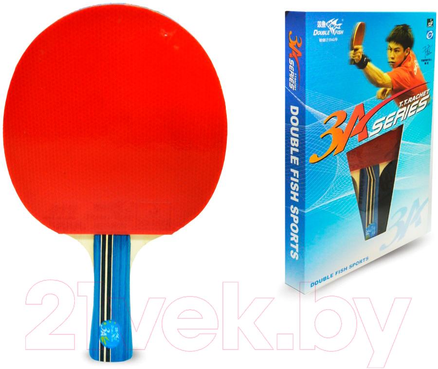 Купить Ракетка для настольного тенниса Double Fish, 3A-C, Китай