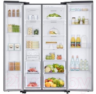 Холодильник с морозильником Samsung RS66N8100S9/WT