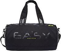 Спортивная сумка Grizzly TU-918-2 (черный/салатовый) -