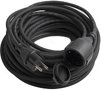 Удлинитель Electraline 01661 (20м, черный) -