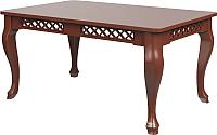 Обеденный стол Goldoptima Людовик (орех 6) -