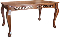 Обеденный стол Goldoptima Людовик (орех коньяк) -