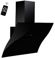 Вытяжка декоративная Backer AH90E-WAV180 RC (черное стекло) -