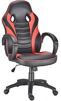 Кресло геймерское Mio Tesoro Николас X-2789 (черный/красный) -