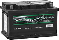 Автомобильный аккумулятор Gigawatt 572409068 (72 А/ч) -