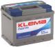 Автомобильный аккумулятор Klema Norm 6CT-55 АзЕ -