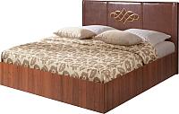 Двуспальная кровать Мебель-Парк Аврора 3 200x160 (темный) -