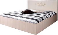 Двуспальная кровать Мебель-Парк Аврора 3 200x180 с подъемным механизмом (светлый) -