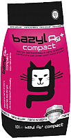 Наполнитель для туалета Bazyl Ag+ Compact (10л) -