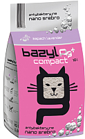 Наполнитель для туалета Bazyl Ag+ Compact Lavender (10л) -