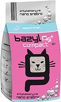Наполнитель для туалета Bazyl Ag+ Compact Fresh (10л) -