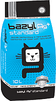 Наполнитель для туалета Bazyl Ag+ Standard (10л) -