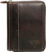 Портмоне Cedar Buffalo Wild N4Z-HP-F (коричневый) -