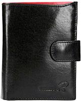 Портмоне Cedar Ronaldo N4L-VT RFID (черный/красный) -