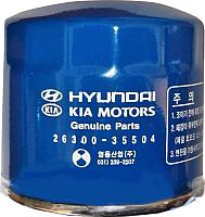 Масляный фильтр Hyundai/KIA S2630035504 -