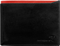 Портмоне Cedar Ronaldo N01-VT RFID (черный/красный) -