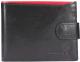 Портмоне Cedar Ronaldo N992L-VT RFID (черный/красный) -