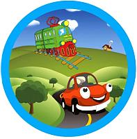 Мяч детский Dema-Stil Транспорт / 2605 -