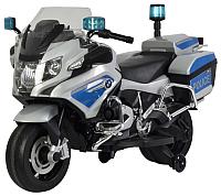 Детский мотоцикл Chi Lok Bo BMW R 1200 RT-P 212АS (серый/синий) -