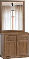 Тумба Woodcraft Гилберт 1167 с зеркалом (экко) -