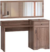 Туалетный столик с зеркалом Woodcraft Лофт 301 (дуб сакраменто) -