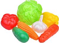 Набор игрушечной посуды Нордпласт Овощи / 434 -