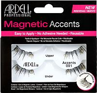 Накладные ресницы магнитные Ardell Magnetic 001 для внешних краев глаз -