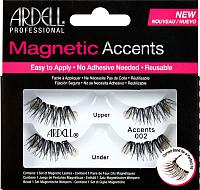 Накладные ресницы магнитные Ardell Magnetic 002 для внешних краев глаз -