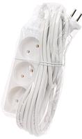 Удлинитель Electraline 62551 (3м, белый) -