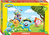 Пазл Step Puzzle Смешарики / 91146 (35эл) -