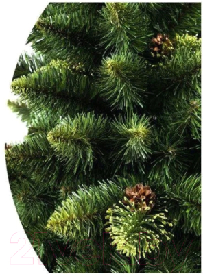 Ель искусственная GrandSiti Снежная королева 100 / 102-070 (зеленый)