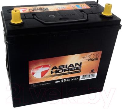 Автомобильный аккумулятор Asian Horse 45 JRt (45 А/ч)