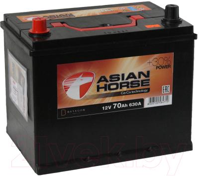 Автомобильный аккумулятор Asian Horse 70 JL (70 А/ч)