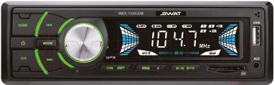 Бездисковая автомагнитола Swat MEX-1033UBG