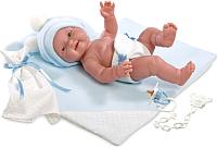 Пупс Llorens Малыш с голубой пеленкой / 26265 -