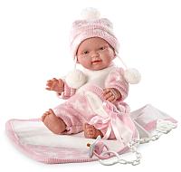 Пупс Llorens Малышка с розовым одеялом / 26270 -