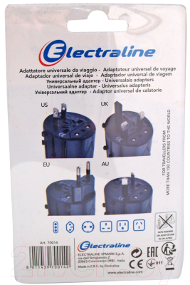 Адаптер питания сетевой Electraline 70014