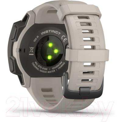 Умные часы Garmin Instinct / 010-02064-01 (белый)