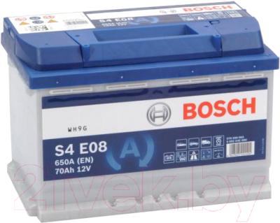 Автомобильный аккумулятор Bosch EFB S4 E08 570500076  / 0092S4E081 (70 А/ч)