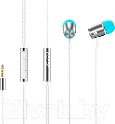 Наушники-гарнитура Huawei Engine Earphones / AM12 Plus (белый)