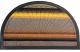 Коврик грязезащитный VORTEX Comfort 45x75 / 22387 (серый) -