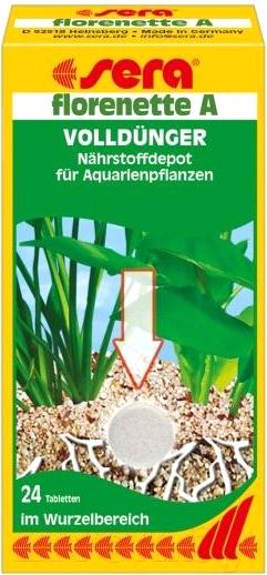 Купить Удобрение для аквариума Sera, Florenette A / 3320, Германия