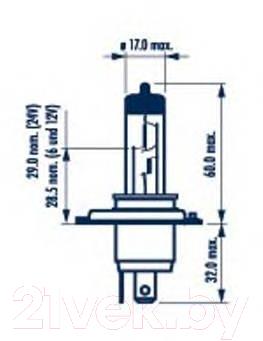 Комплект автомобильных ламп Narva 48677 (2шт, блистер)